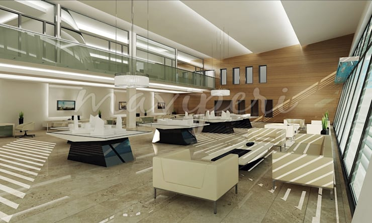 Libya Tripoli Tanıtım Ofisi:   by Maviperi Mimarlık