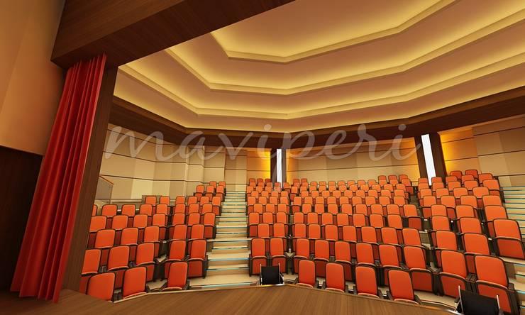 İskenderun İkem Koleji Konferans Salonu:   by Maviperi Mimarlık