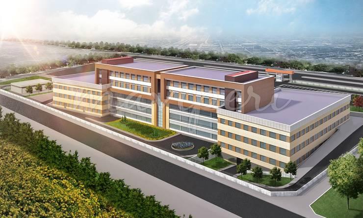 Balıkesir Burhaniye Devlet Hastanesi:   by Maviperi Mimarlık