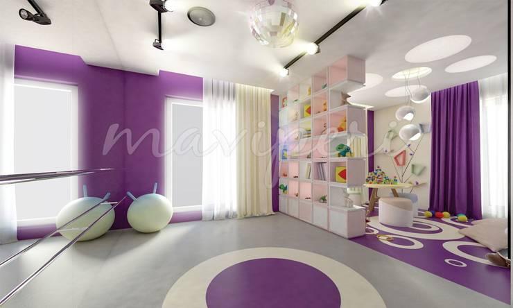 Тренажерные комнаты в . Автор – Maviperi Mimarlık