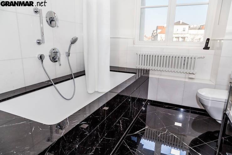 łazienka W Marmurze By Granmar Borowa Góra Granit Marmur