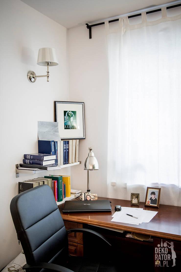 POZNAŃ | Wierzbowa dziupelka | Realizacja: styl , w kategorii Salon zaprojektowany przez dekoratorka.pl,Klasyczny