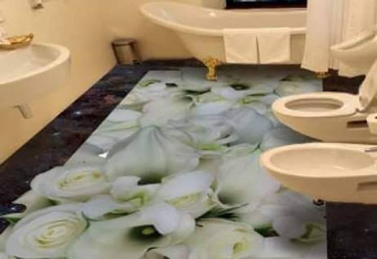 Kardesler Mermerit – Banyo Tasarımları:  tarz Banyo