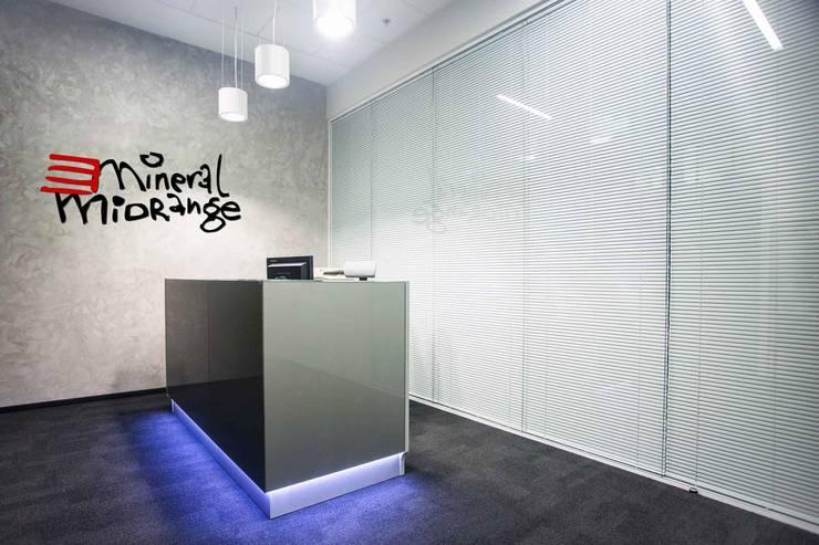 Mineral Midrange: styl , w kategorii Biurowce zaprojektowany przez INSPACE