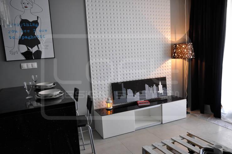 Panele Dekoracyjne 3D - Loft Design System - model Optic: styl , w kategorii Ściany i podłogi zaprojektowany przez Loft Design System
