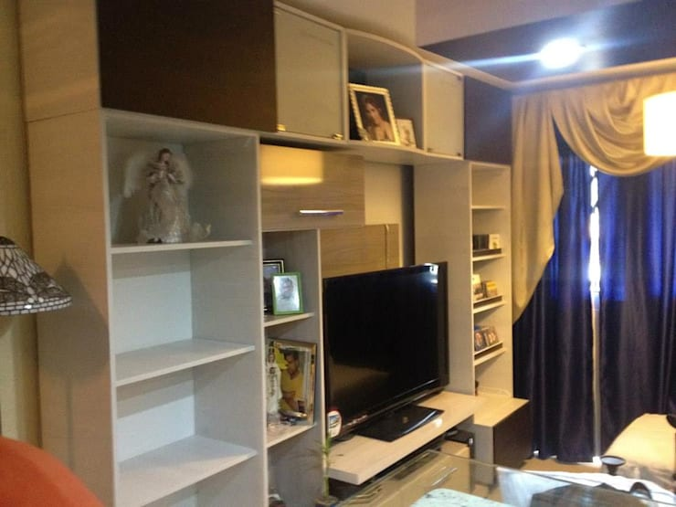 Remodelación Apto el Limón Maracay: Salas / recibidores de estilo  por GRUPO A.K.09, C.A.