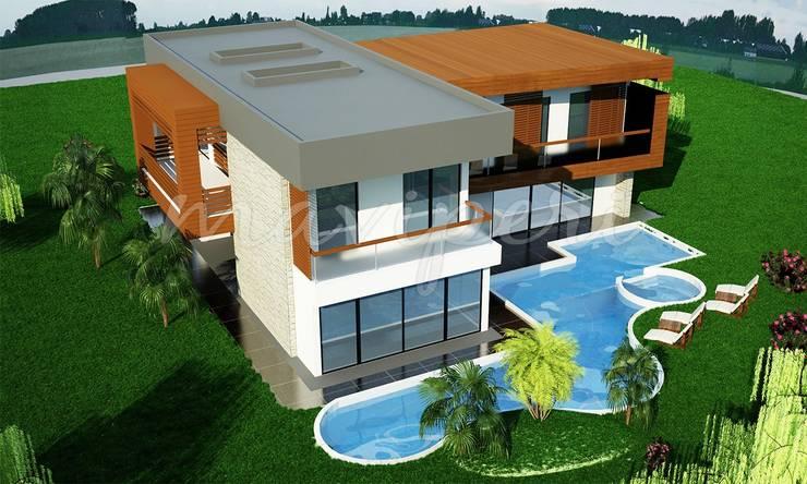 Akdemir Residence: modern Houses by Maviperi Mimarlık