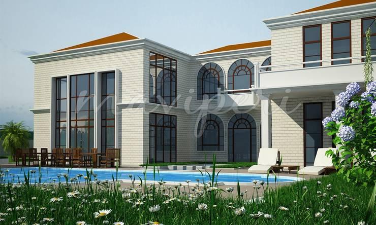 Soylu Residence:  Houses by Maviperi Mimarlık,Modern