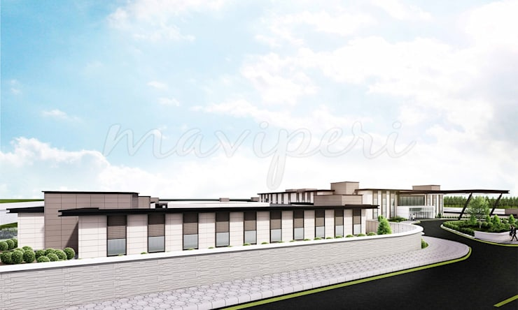 Bilkent Yüksek Güvenlikli Adli Psikiyatri Hastanesi:   by Maviperi Mimarlık