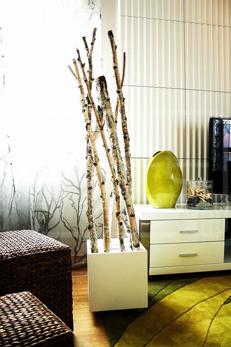 Panele Dekoracyjne 3D - Loft Design System - model Ruffles: styl , w kategorii Ściany i podłogi zaprojektowany przez Loft Design System