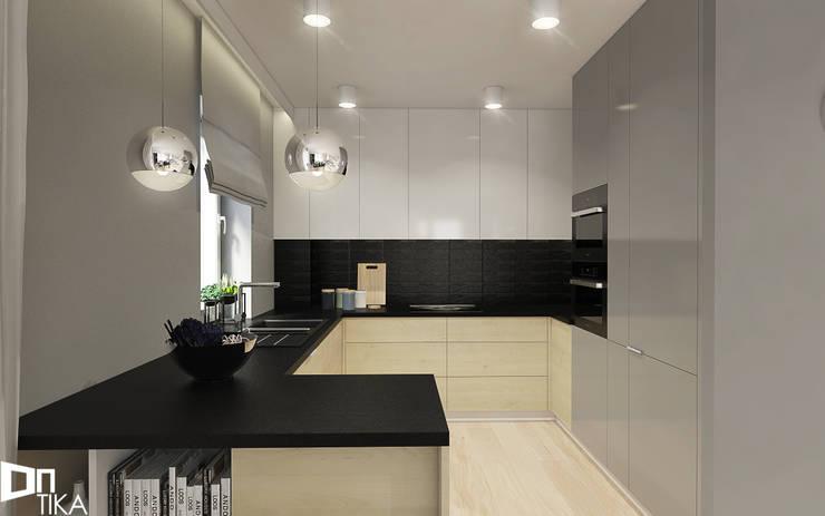 PROJEKT RZESZÓW/ 65 m2: styl , w kategorii Kuchnia zaprojektowany przez TIKA