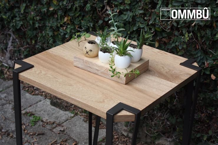 Mobiliario: Jardín de estilo  por OMMBÛ MOBILIARIO