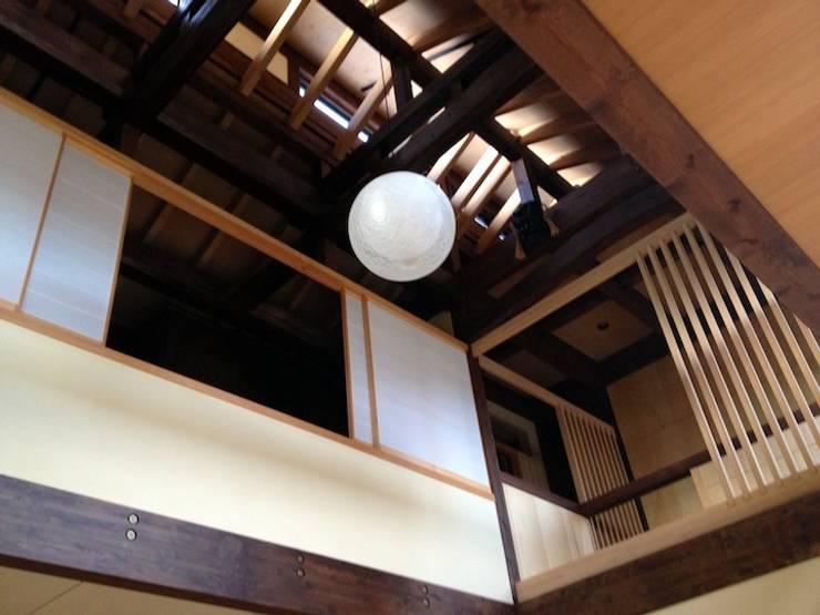 吉岡宿の家  : 伊藤邦明都市建築研究所が手掛けた和室です。,クラシック 木 木目調