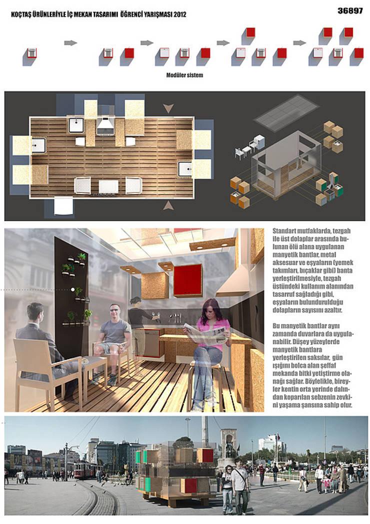 DOTY – AÇIK MUTFAK:  tarz Mutfak, Modern