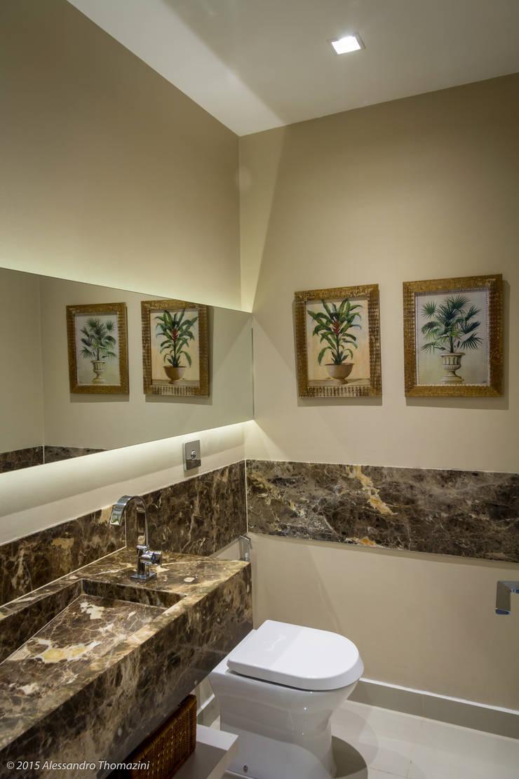 Lavabo: Banheiros  por Adriana Leal Interiores