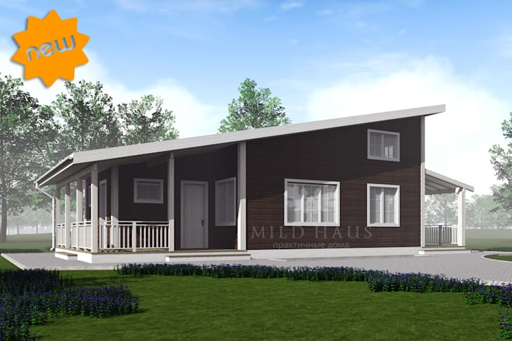 Casas de estilo escandinavo por Mild Haus