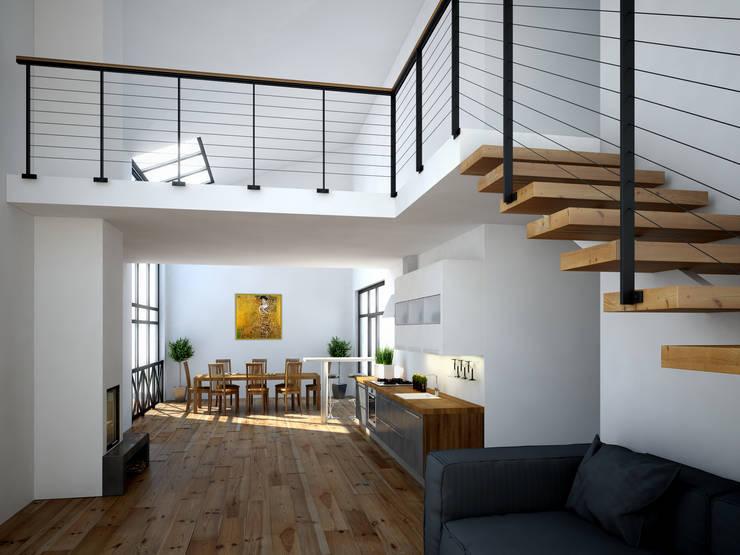 Comedores de estilo minimalista por Mild Haus