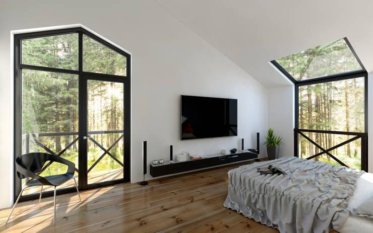 Dormitorios de estilo moderno por Mild Haus