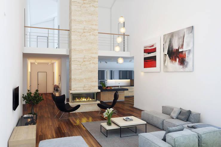 Livings de estilo minimalista por Mild Haus