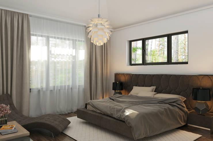 Dormitorios de estilo clásico por Mild Haus