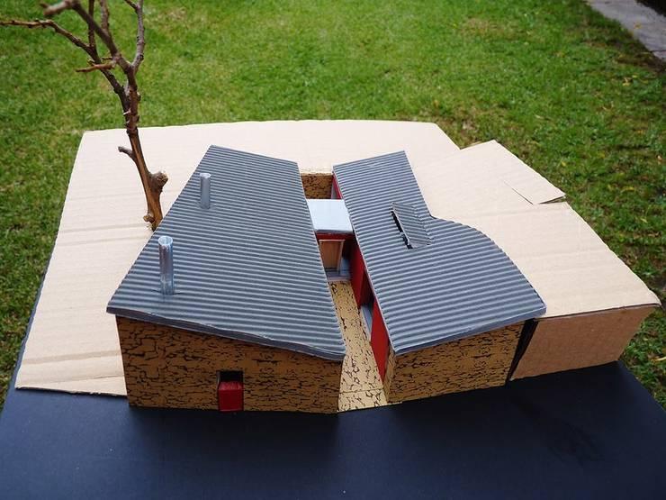 Maqueta:   por Borges de Macedo, Arquitectura.