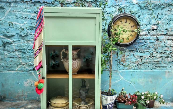 pedesaan  oleh Muebles eran los de antes - Buenos Aires, Rustic Parket Multicolored