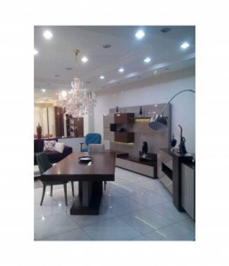 BOSTAN MOBİLYA VE TASARIM SAN.TİC.LT.ŞTİ – Alan Mobilya Kapiçino Yemek Odası:  tarz Yemek Odası