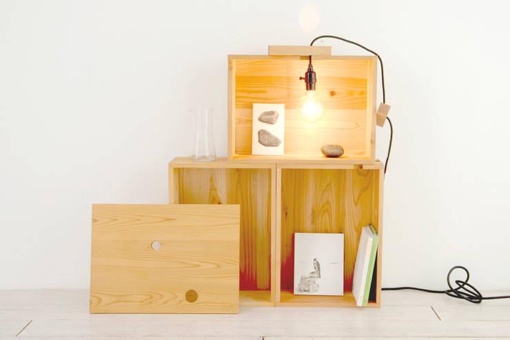 box: 暮らすひと暮らすところが手掛けたリビングルームです。
