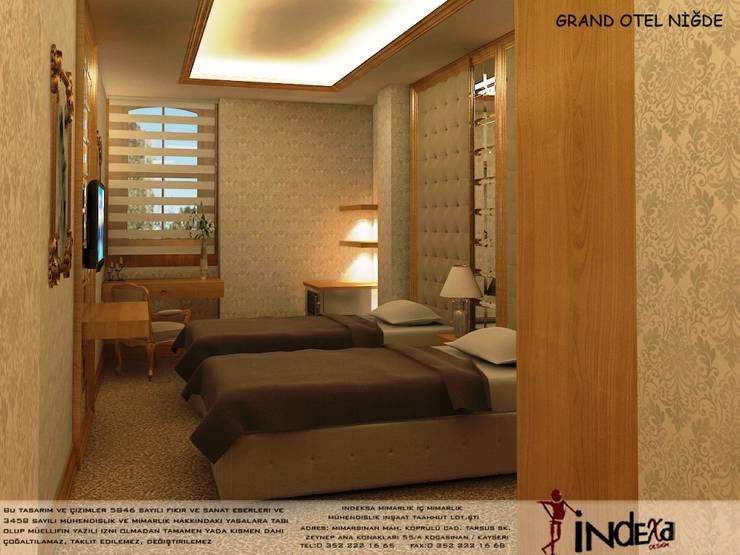 İNDEKSA Mimarlık İç Mimarlık İnşaat Taahüt Ltd.Şti. – GRAND OTEL:  tarz İç Dekorasyon