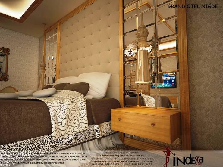 İNDEKSA Mimarlık İç Mimarlık İnşaat Taahüt Ltd.Şti. – GRAND OTEL :  tarz İç Dekorasyon
