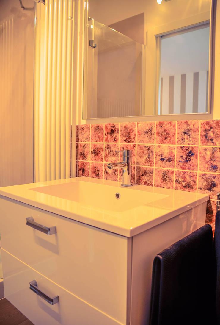 Colonial style bathroom by Alessandro Corina Interior Designer Colonial