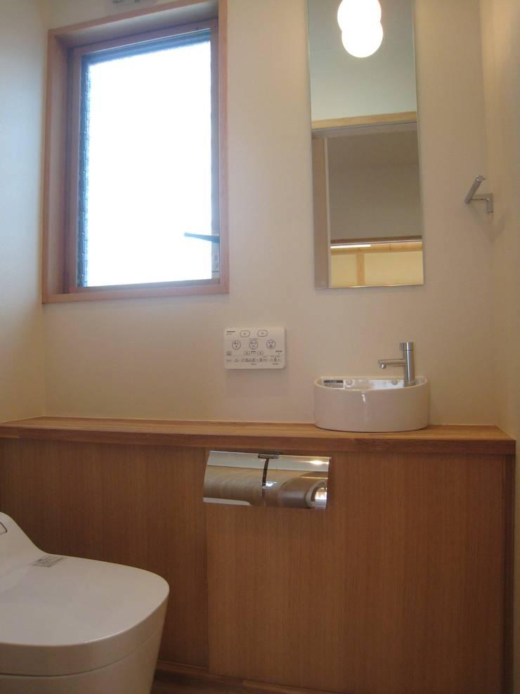 喜連の家 Ⅰ: 株式会社 atelier waonが手掛けた浴室です。,