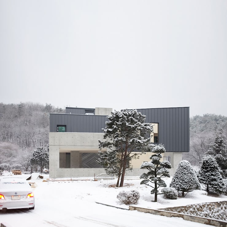 Projekty,  Domy zaprojektowane przez designband YOAP
