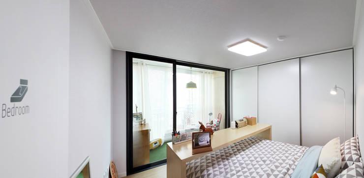 Hongeun-dong apartment unit remodeling: designband YOAP의  침실