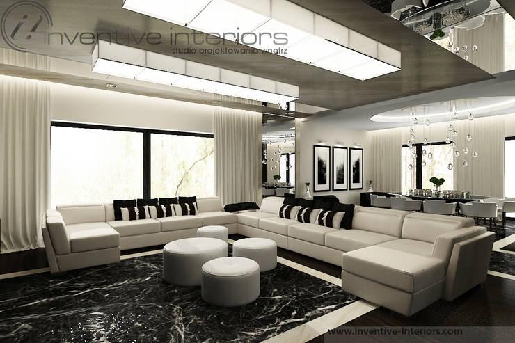 Salas de estilo moderno de Inventive Interiors Moderno