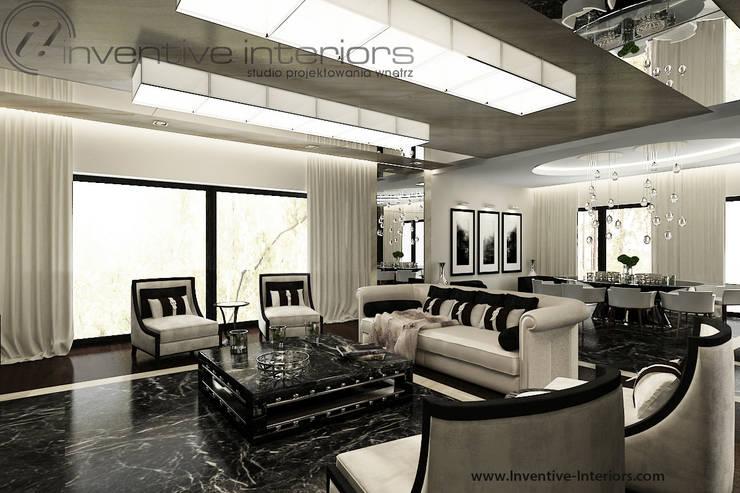 Salas de estilo clásico de Inventive Interiors Clásico