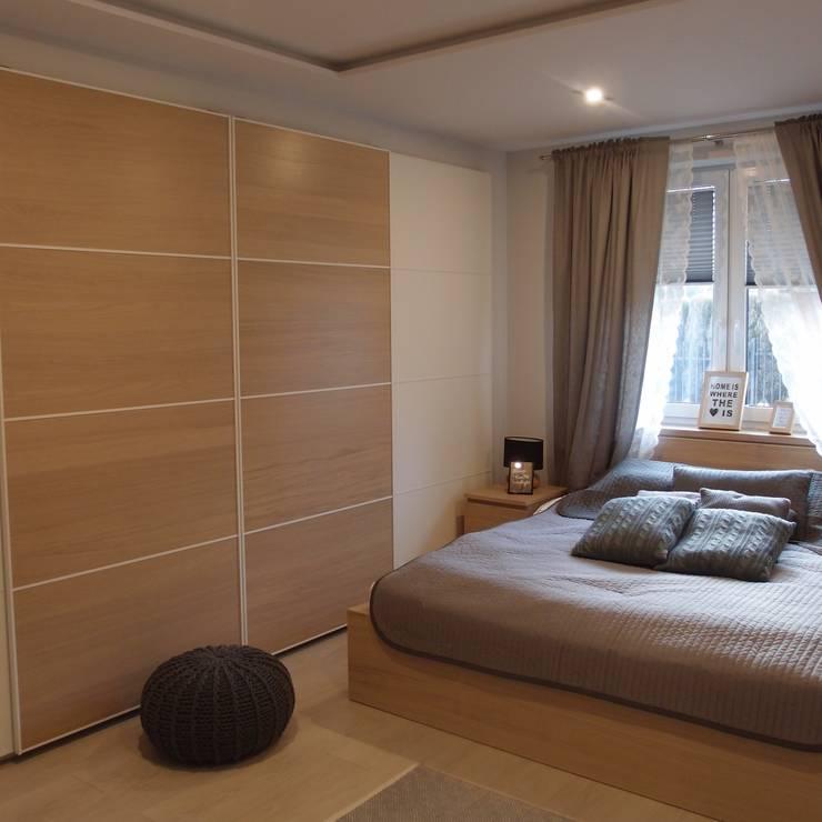 Dom jednorodzinny: styl , w kategorii Sypialnia zaprojektowany przez studio bonito