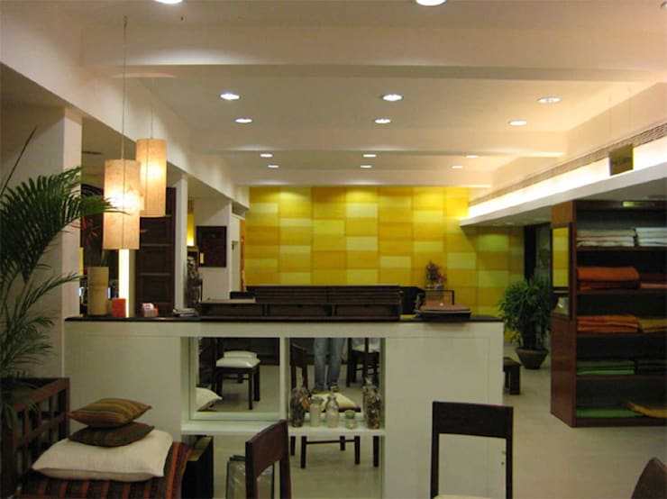 Fabindia at BEL road, Bangalore:  Offices & stores by Parikshit Dalal Design + Architecture