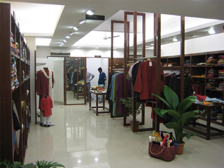 Fabindia, Bangalore:  Offices & stores by Parikshit Dalal Design + Architecture