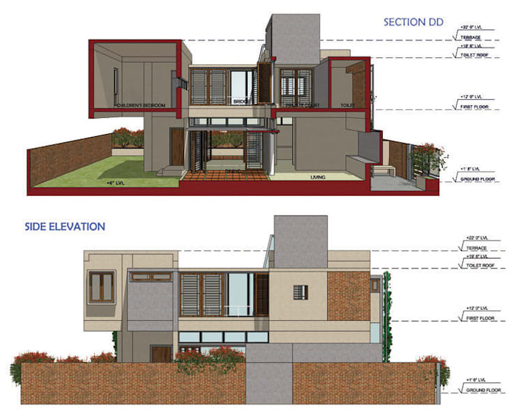 RAISE: INDIA HOMES 2020  Competition entry – 2012:   by Parikshit Dalal Design + Architecture