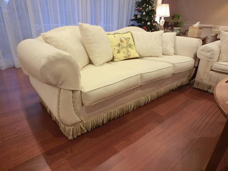 3 seater sofa : (株)工房スタンリーズが手掛けたリビングルームです。