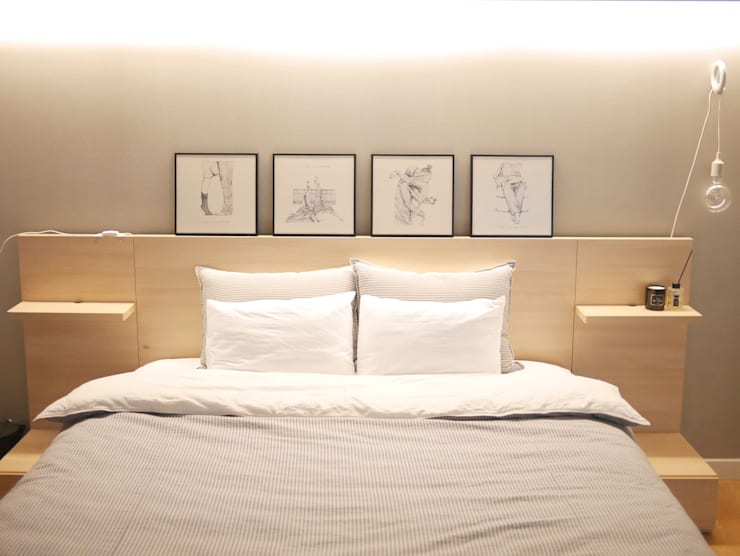 Posters: 진에이치 Jin H,art의  침실