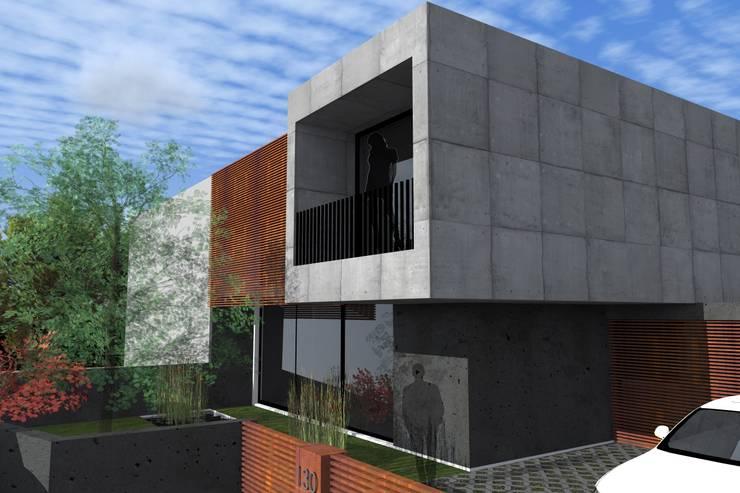 Casa <q>Couve do Corgo</q>: Casas  por FP Arquitetos