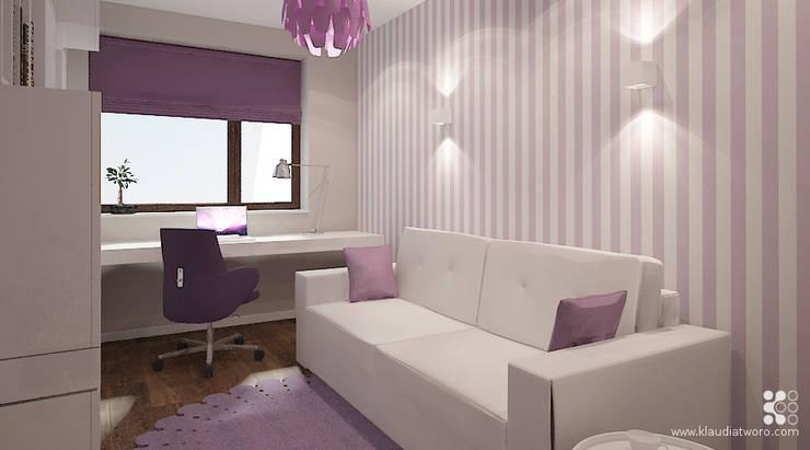 MIESZKANIE NA KAZACHSKIEJ: styl , w kategorii Pokój dziecięcy zaprojektowany przez Klaudia Tworo Projektowanie Wnętrz Sp. z o.o.