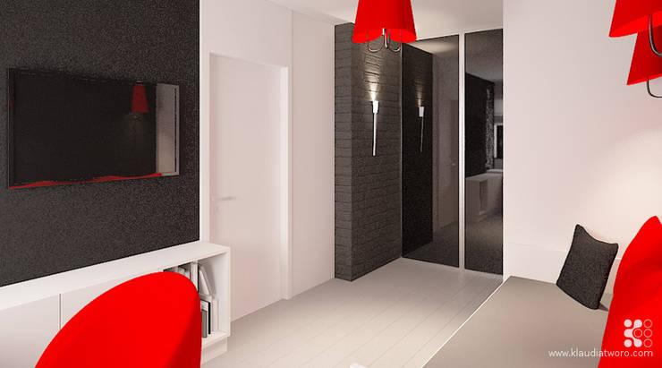 MIESZKANIE W TURKUSACH: styl , w kategorii Pokój dziecięcy zaprojektowany przez Klaudia Tworo Projektowanie Wnętrz Sp. z o.o.,Nowoczesny