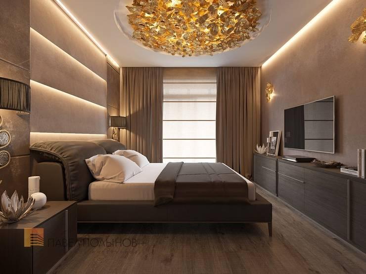Projekty,  Sypialnia zaprojektowane przez Студия Павла Полынова