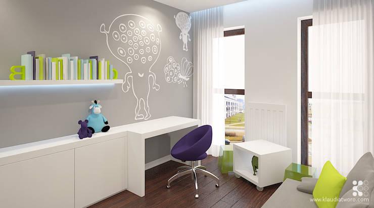 MIESZKANIE Z TENERYFĄ: styl , w kategorii Pokój dziecięcy zaprojektowany przez Klaudia Tworo Projektowanie Wnętrz Sp. z o.o.