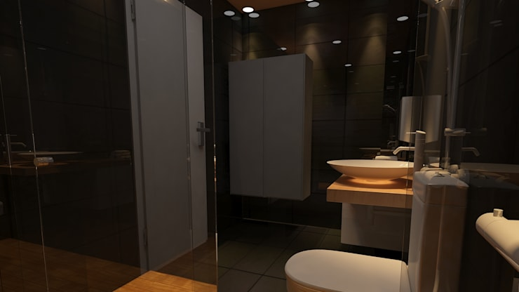 serdar şahiner – banyo tasarımı:  tarz Banyo