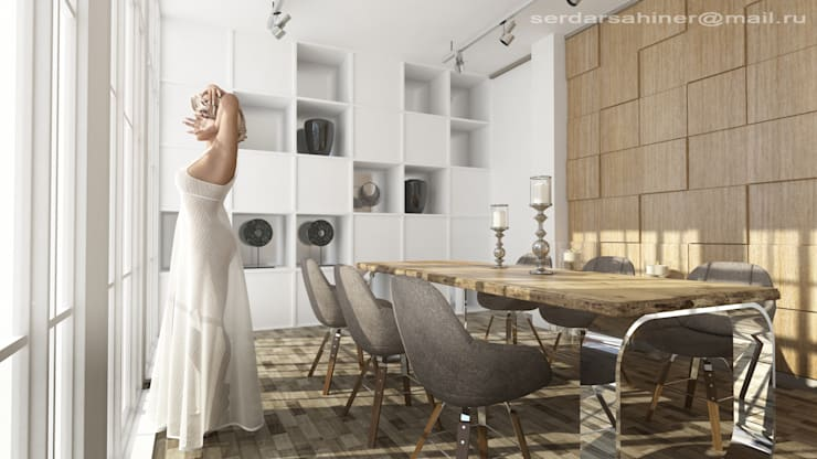 serdar şahiner – oda tasarımı : modern tarz , Modern