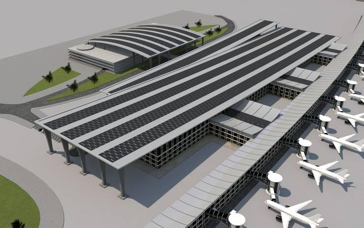 Boyut Animasyon – mimari modelleme:  tarz Havalimanları